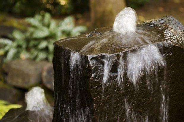 fuentes de piedra hechas en casa