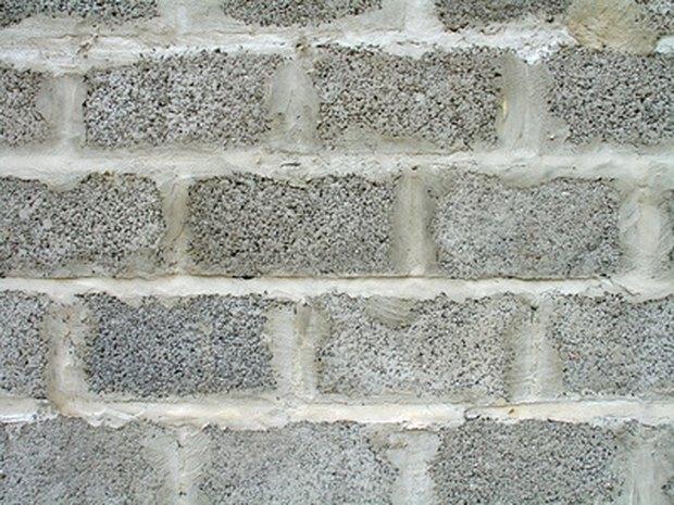 una manera econmica de disfrazar una pared de bloques de cemento