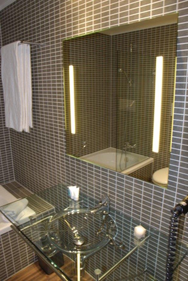 Increíble Cómo Enmarcar Un Espejo De Baño Con Clips Fotos - Ideas ...