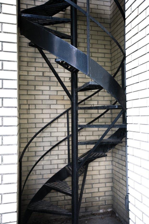 cmo hacer segura una escalera en espiral para bebs
