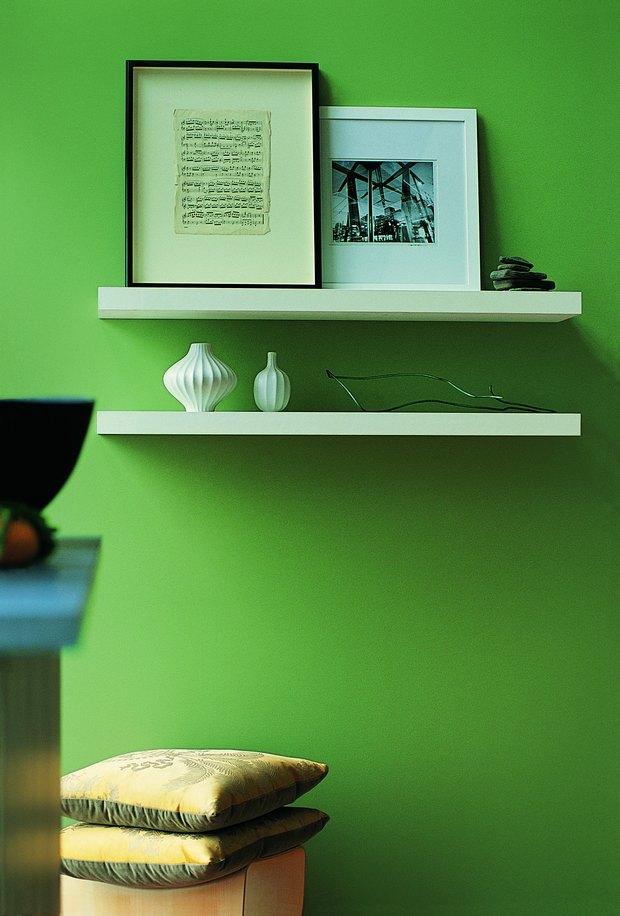 Pinturas interiores verdes - Colores de pinturas para interiores ...