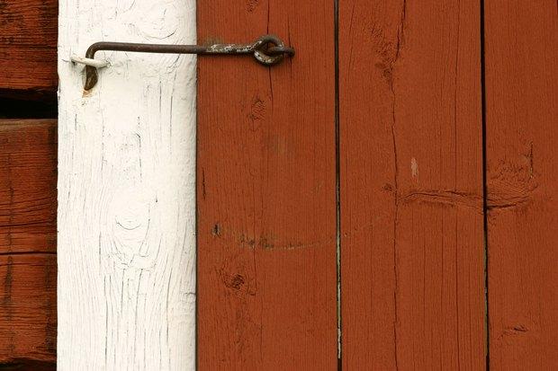 cmo construir una puerta corrediza de madera de tamao grande
