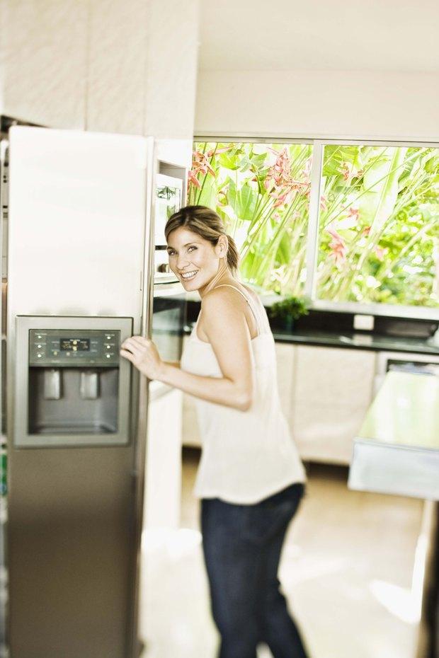 Medidas úteis de temperaturas da geladeira e do congelador