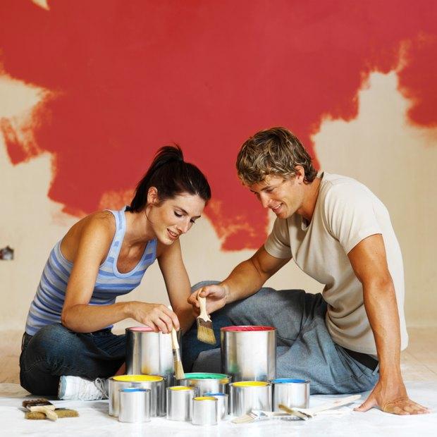 como elegir colores de pintura para las paredes de una casa rustica