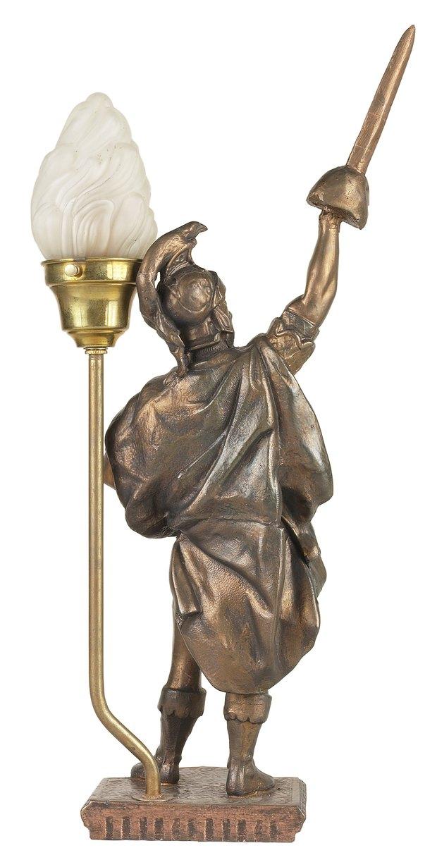 Limpiar lampara de bronce best limpiar cobre latn y - Limpiar lamparas de cristal ...