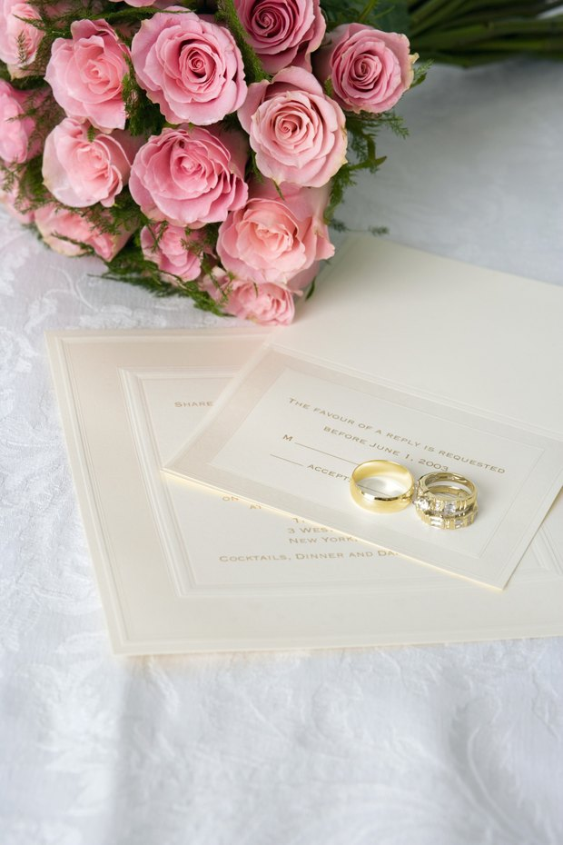 qu escribir en una tarjeta anexa para invitacin de boda