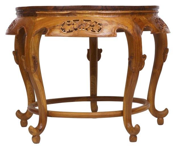 cmo reparar la pata de una mesa de madera