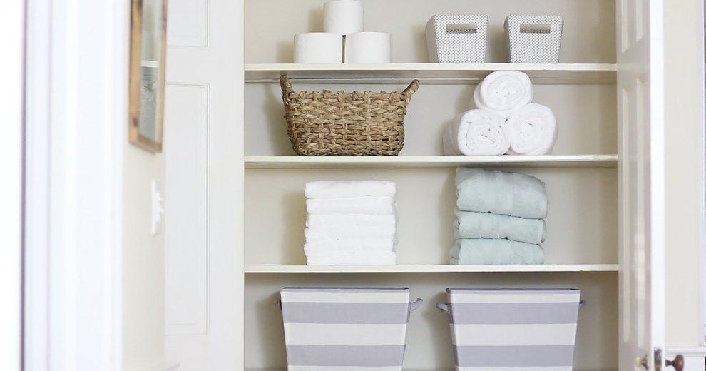 Como dobrar toalhas para economizar espaço