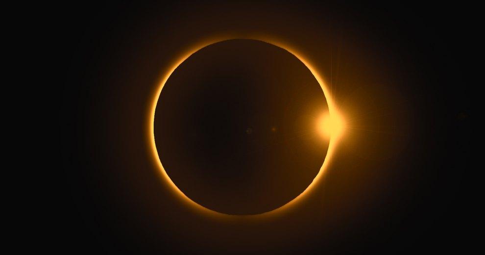 ¿Por qué no debes mirar al sol durante un eclipse solar?